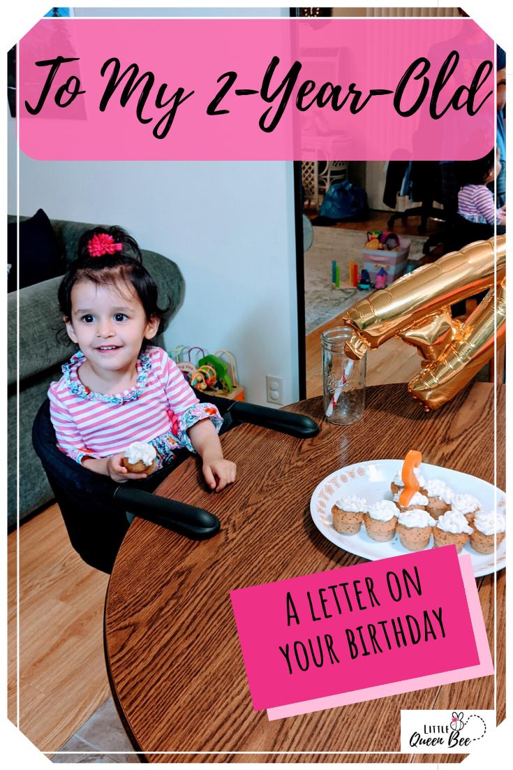 Dear Aletheia (2nd Birthday)
