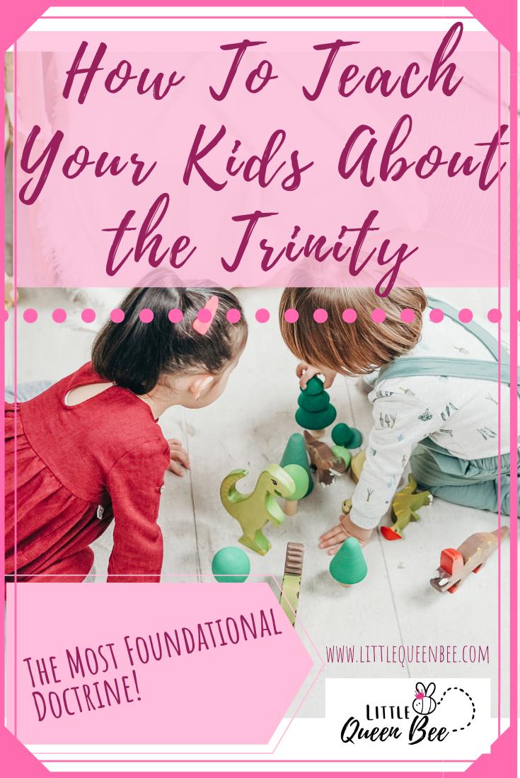How to Teach the Trinity to Your Kids | Trinity Teaching Bundle