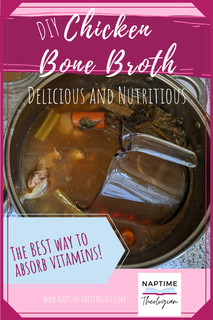 DIY Chicken Bone Broth