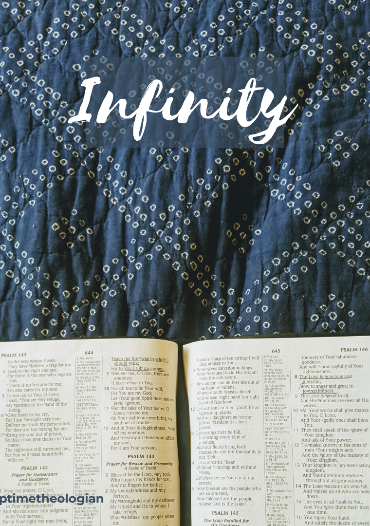 Infinity | 50-Cent Theology Words