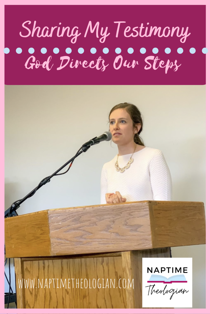 My Testimony | God Directs Our Steps