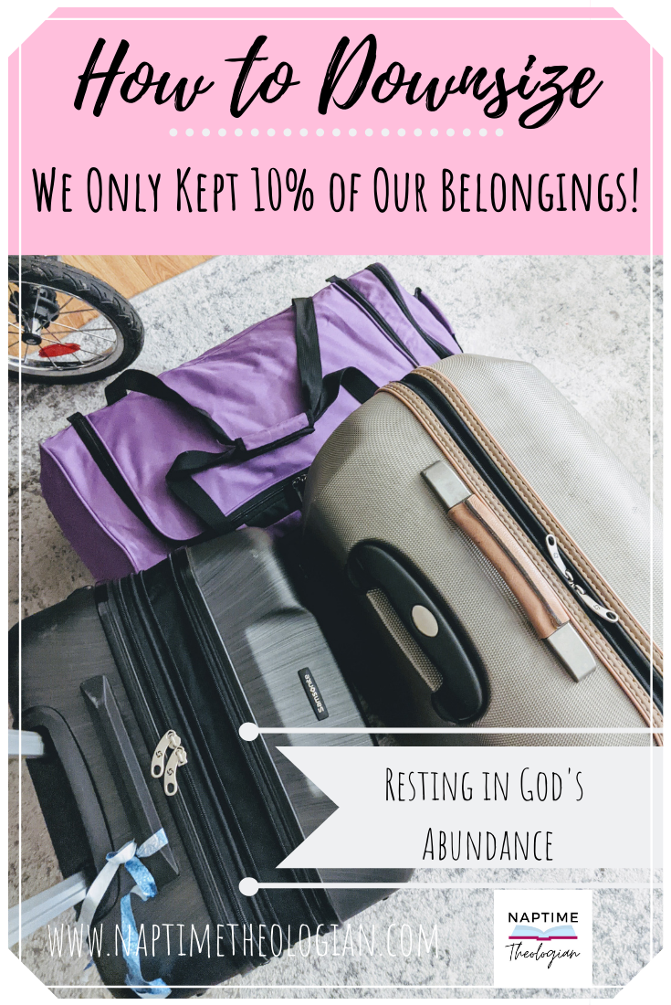 Downsizing | We Only Kept 10% of Our Stuff!
