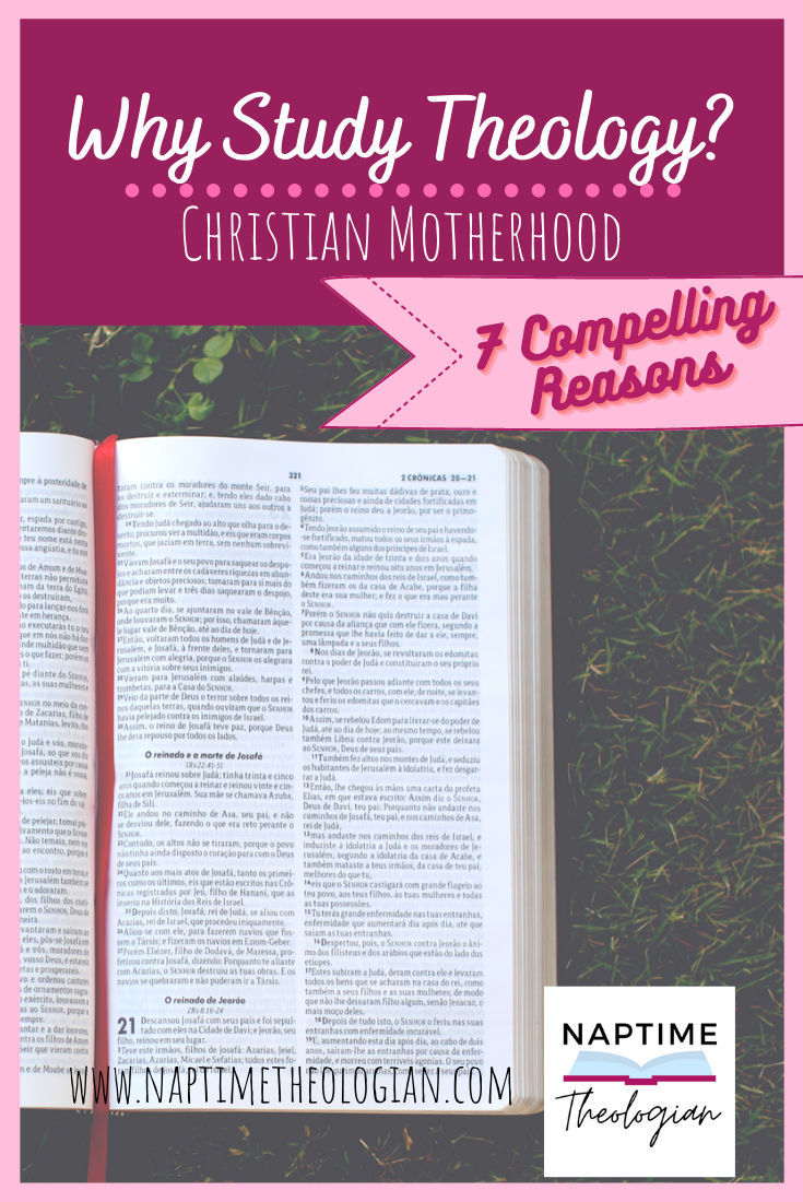 Why Should You Study Theology? | Theology for Every Mom