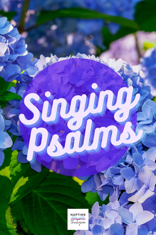 Singing the Psalms | Spotify Playlist